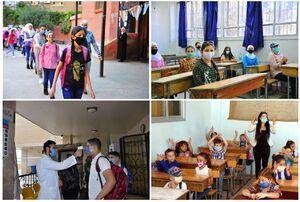 عکس/ آغاز سال تحصیلی جدید در سوریه