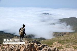 گیلان از فراز ابرها