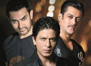 سه خان سینمای هند