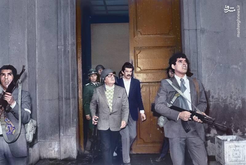 سالوادور آلنده در آخرین ساعات زندگی اش