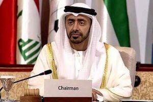 وزیر خارجه امارات برای امضای توافق سازش وارد واشنگتن شد