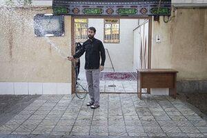عکس/ روضه خانگی در منزل شهید