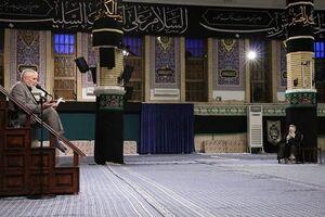 مراسم عزاداری شهادت امام سجاد (ع) در حسینیه امام خمینی برگزار شد