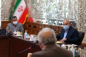 عکس/ جلسه امروز قالیباف با وزیر اقتصاد