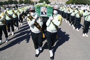 عکس/ تشییع شهید مدافع امنیت در تبریز