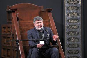 فیلم/ روضه خوانی محمدرضا طاهری در حضور رهبر انقلاب
