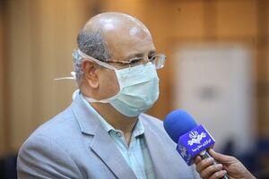 آمار کرونا در تهران با شیب ملایم رو به افزایش است