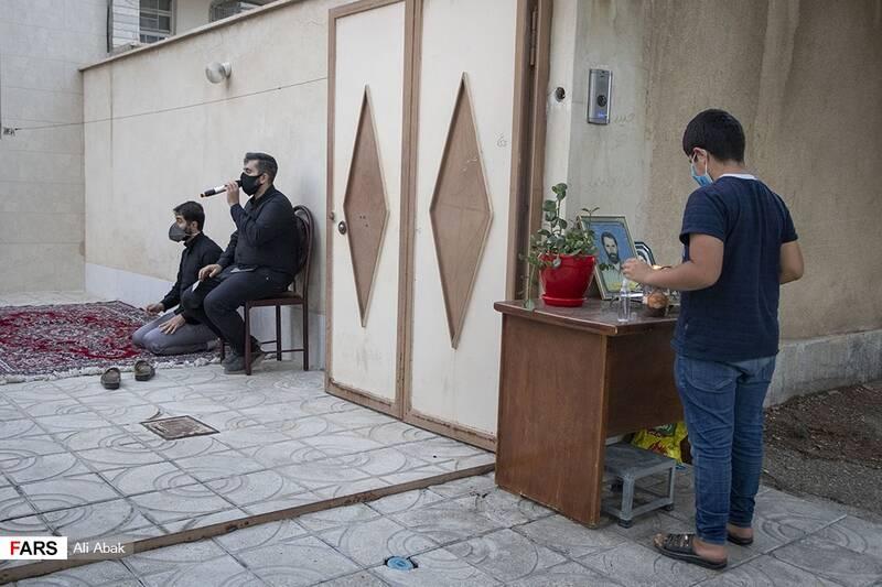 مجلس عزاداری و روضه خانگی در منزل شهید سیدحیدر سیادت