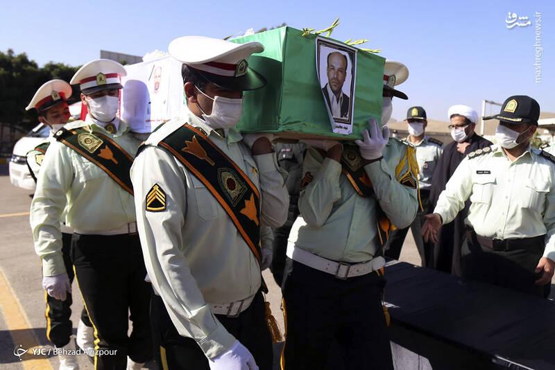 2916973 - عکس/ تشییع شهید مدافع امنیت در تبریز