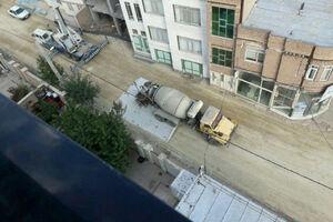 عکس/ اقدام جالب شهروند اردبیلی