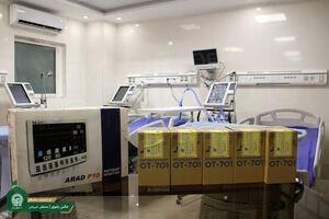عکس/ تجهیز بیمارستان راسک در سیستان و بلوچستان