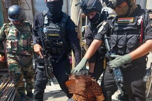 خنثی سازی حمله تروریستی به بازاری در شرق عراق