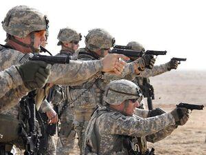 حمله به یک کاوران نظامی آمریکا در «حله» عراق