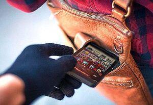 فیلم/ لحظه بازداشت سریع سارق گوشی توسط پلیس مخفی