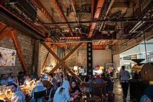 طرح تعجب آور یک کافی شاپ در ایران +عکس