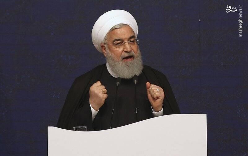 فیلم/ روحانی: هیچ کشوری با آمریکا نیست
