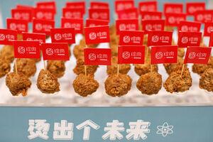 عکس/ مواد گوشتی ساخت چین از سبزیجات