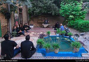 عکس/ روضه خانگی آخرین روزهای ماه محرم