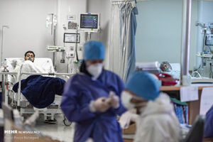 عکس/ افزایش بستری شدگان مبتلا به کرونا
