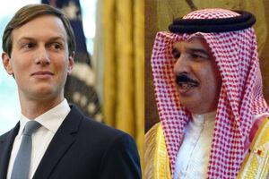 عکس/ هدیه داماد یهودی ترامپ به پادشاه بحرین