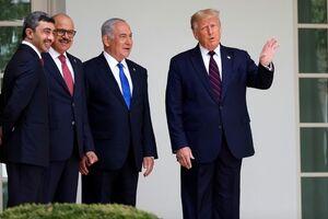 ترامپ توافق امارات با اسراییل