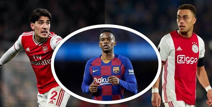 گزینههای بارسلونا برای خرید مدافع راست
