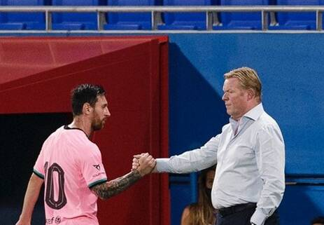 پیروزی بارسلونا با درخشش مسی