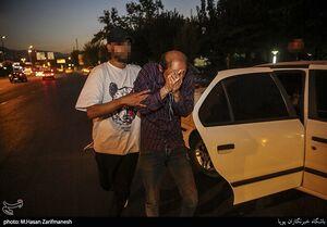 عکس/ دستگیری توزیع کنندگان مواد مخدر در غرب تهران