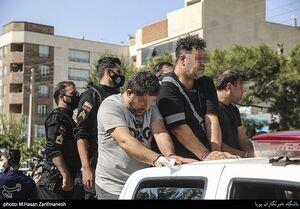 عکس/ خیابان گردانی اراذل و اوباش تهرانپارس