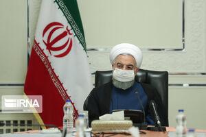 عکس/ روحانی در جلسه روسای کمیتههای ستاد ملی مقابله با کرونا