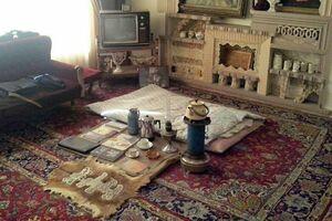تصویری زیبا از خانهٔ استاد شهریار در شهر تبریز که بهعنوان یکی از آثار ملی ایران به ثبت رسیده و بهصورت موزه درآمدهاست - کراپشده