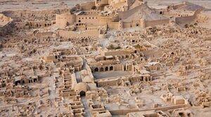 عکس/ نمایی زیبا از ارگ تاریخی بم