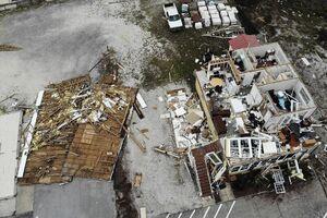 عکس/ خسارت طوفان سالی در آمریکا را از بالا ببینید