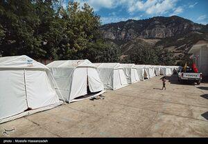 عکس/ آخرین وضعیت مناطق زلزلهزده گلستان