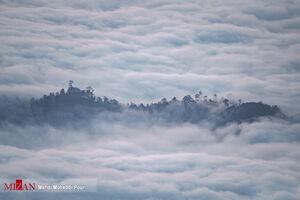 عکس/ روستایی از جنس ابر