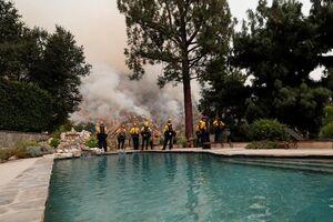 عکس/ نابودی بیسابقه جنگلهای کالیفرنیا در حریق