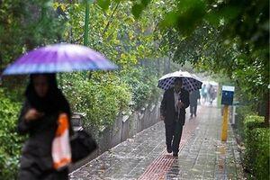 پیشبینی بارش باران در برخی مناطق کشور
