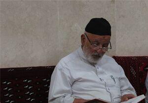 پیکر حاج علی شمقدری در بهشت رضای مشهد آرام گرفت