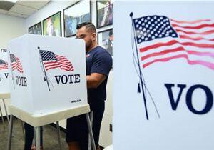 آغاز رأیگیری زودهنگام در چند ایالت آمریکا