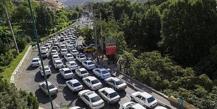 ترافیک سنگین در محورهای فیروزکوه و کندوان