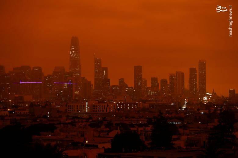 2920425 - عکس/ نابودی بیسابقه جنگلهای کالیفرنیا در حریق