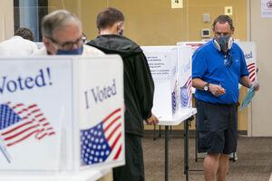عکس/ آغاز انتخابات ۲۰۲۰ آمریکا