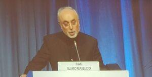 سخنرانی مجازی علی اکبر صالحی در اجلاس سالانه کنفرانس عمومی آژانس