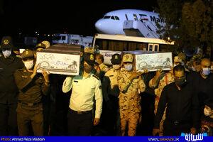 ورود پیکر دوشهید تازه تفحص شده به شیراز