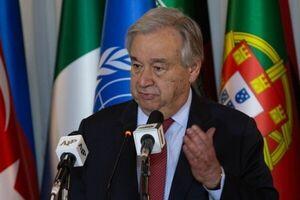 گوترش: درباره تحریمهای ایران اقدامی نمیکنم