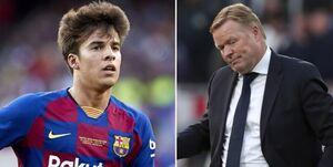 واکنش مربی بارسلونا به خبر جنجالی / کومان: به ریکی پوچ پیشنهاد دادم از بارسا برود