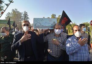 عکس/ استقبال از دو شهید دفاع مقدس در  شیراز