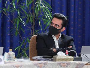 عکس/ جلسه هیات دولت و مقاومت روحانی در برابر آمریکا و ماسک! - کراپشده