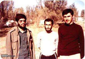سه شهید مازندرانی در یک قاب