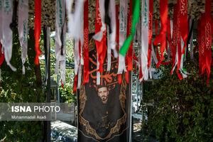 عکس/ گلزار شهدای بهشت زهرا در آغاز هفته دفاع مقدس